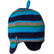 Isbjörn Stripes Knitted Cap Babies Seagrass